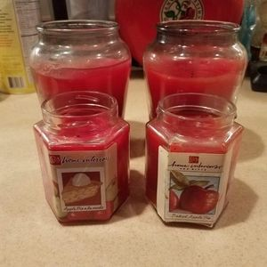Home Intereriors Baked Apple candles